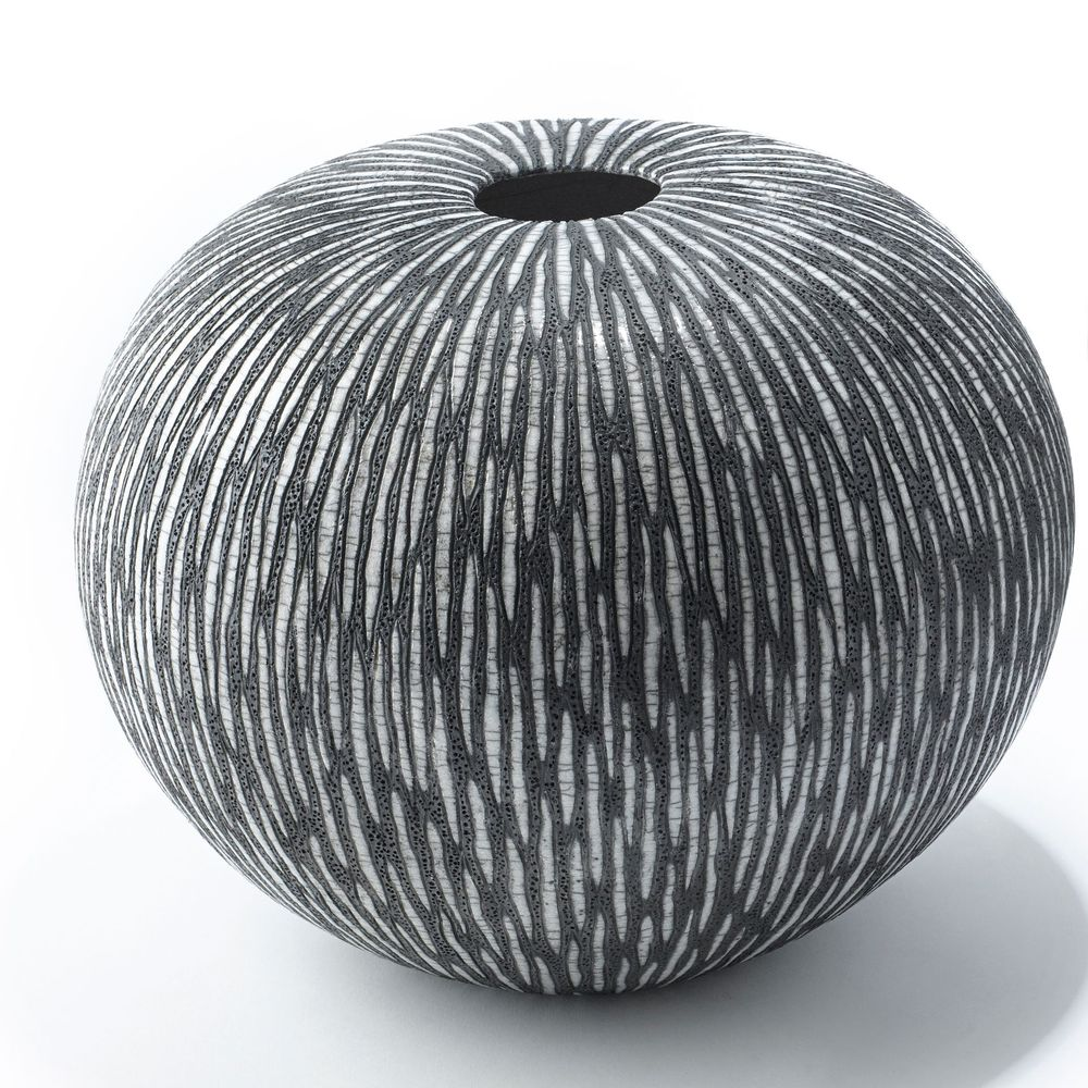Boule De Plume A Suspendre grande boule strate - decorative objects - ateliernovo