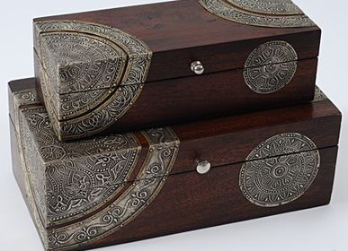 Decorative objects - Collection of mango wood boxes - ILLUMINATION