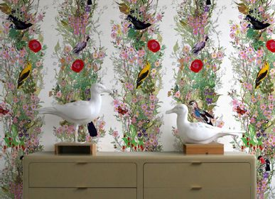Upholstery fabrics - Fruit Looters Wallpaper - TIMOROUS BEASTIES