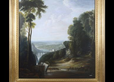 Tableaux - Italian classic landscape - BARJ BUZZONI