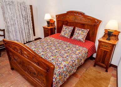 Comforters, pillows - QUILTS, THROWS AND CUSHIONS WITH LIBERTY FABRICS - AN ANT