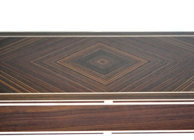 Decorative objects - Backgammon in rosewood - ELIE BLEU