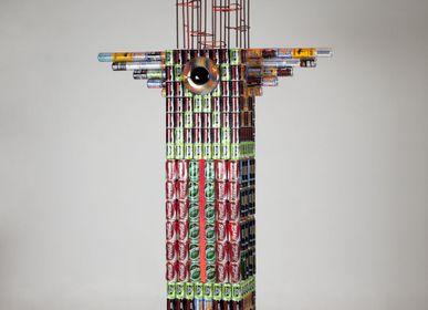 Sculpture - sculpture X MILLIARDS DE CONSOMMATEURS - BOURDIER JEAN PLASTICIEN