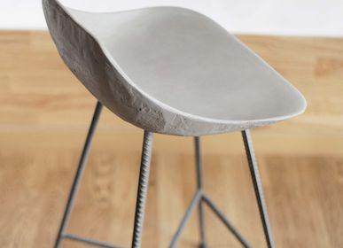 Chaises pour collectivités - hauteville - Chaise de bar en béton  - LYON BÉTON