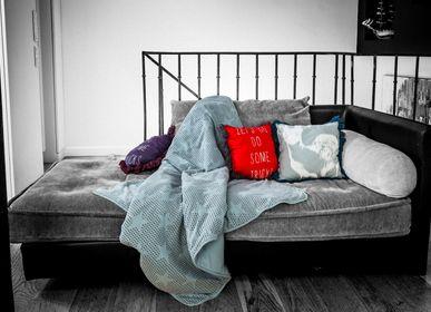 Throw blankets - licorne - JACK N'A QU'UN OEIL