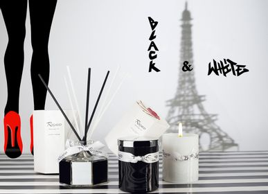 Bougies - La collection Black & White de Rigaud - BOUGIES RIGAUD