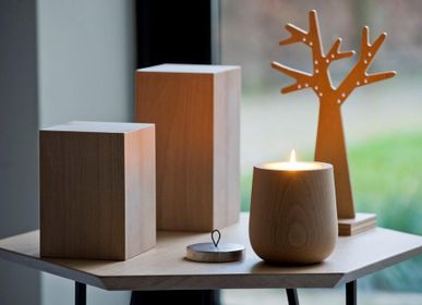 Design objects - THE WOODEN CANDLES - HYPSOÉ - MADE IN PARIS