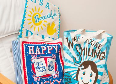 Bags and totes - Mary Fellows Slogans Tote Bags - TALENTED