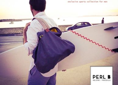 Sport bag - Sports collection - grey bag - PERL B HELSINKI-MARSEILLE