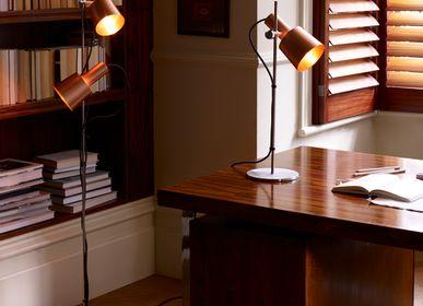 Lampes de table - Lampe de table Chester, Cuivre satiné - ORIGINAL BTC
