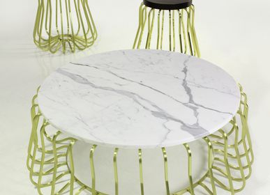 Chambres d'hotels - Rococo Table Collection - MARTIN HUXFORD STUDIO