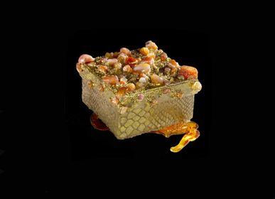 """Caskets and boxes - """"Stone Boxes"""" - ENRICAGIOVINE ART MAISON"""