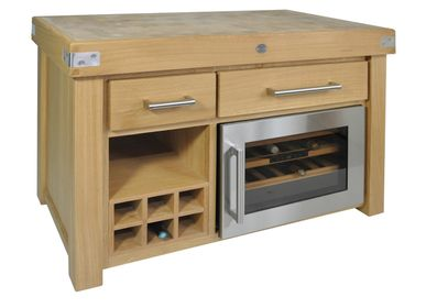 Kitchens furniture - VINOTHEQUE LOG - CHABRET