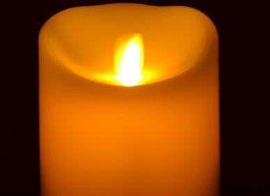 Decorative objects - Bougies en cire à flamme LED Oscillante - FLAMINA