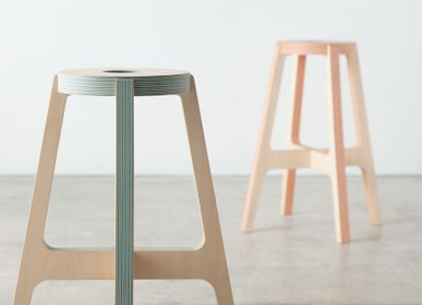 Stools - Paper-Wood STOOL - PLYWOOD LABORATORY