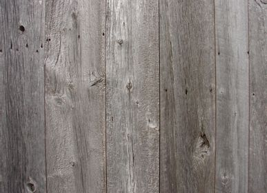 Wall coverings - Old cladding recovered from century-old barns in Canada. - ATMOSPHÈRE & BOIS