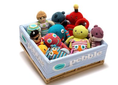 Peluches - Peluches Pebble crochet toys - BEST YEARS LTD
