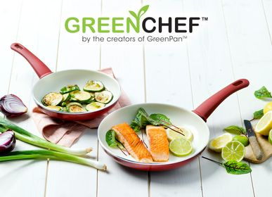 Frying pans - GreenChef Soft Grip - THE COOKWARE COMPANY EUROPE / GREENPAN
