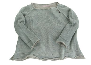 Ready-to-wear - Alpaca & Linen Raglan Jumper - SAMANTHA HOLMES ALPACA