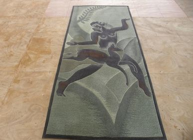 Tapis contemporains - F-W tapis Art-deco  - BORIS JOFFO CREATIONS & DESIGN