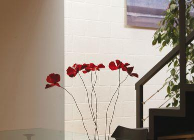 Design objects - Table delicate poppies - FIORI DI LATTA