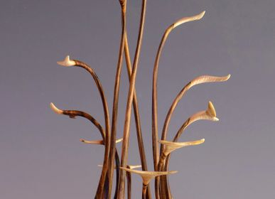 Sculpture - Eureka - ALAIN MAILLAND - SCULPTURES BOIS