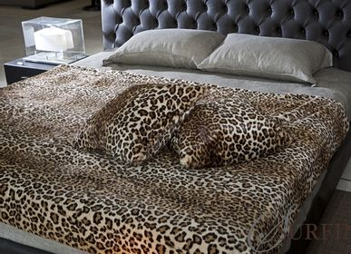 Throw blankets - Leopard plaids - JASON FUR COLLECTION
