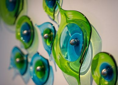 Art glass - Wall art - STUART AKROYD GLASS