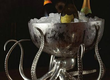 Silverware - Octopus Ice Tub / Punch Bowl - VAGABOND HOUSE
