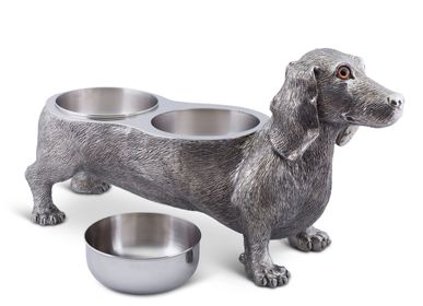 Bowls - Dog Feeding Bowl - Dachshund - VAGABOND HOUSE