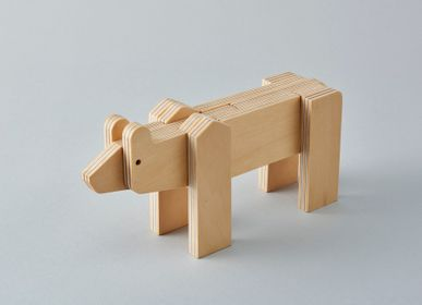 Toys - animal puzzle [higuma] - PLYWOOD LABORATORY