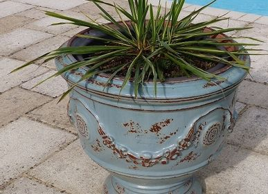Flower pots - CUP ANDUZE - POTERIE LE CHENE VERT - ANDUZE