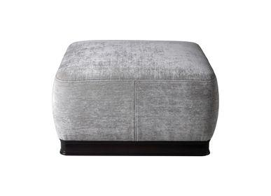 Ottomans - Grey pouf Art. 2190 - CHELINI