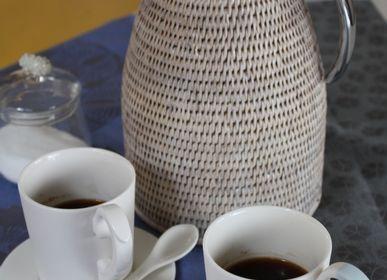 Panier a linge - Collection Rotin Blanc - BAOLGI