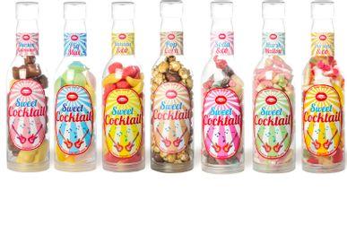 Confiserie - Maxi bouteille Popcorn et Mini bouteilles bonbons - SOPHIE M
