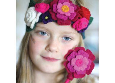 Déguisements pour enfant - Fée de jardin anglais Couronne & baguette - SEW HEART FELT