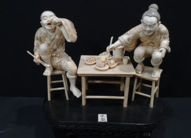 Sculptures, statuettes and miniatures - Mammoth Ivory Sculpture - TRESORIENT