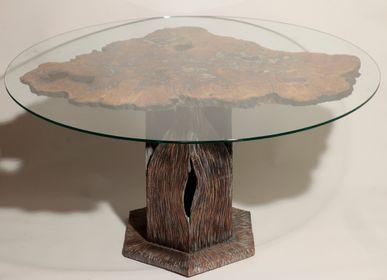 Tables - Table sculpture - NANCEY CHRISTOPHE SCULPTURE