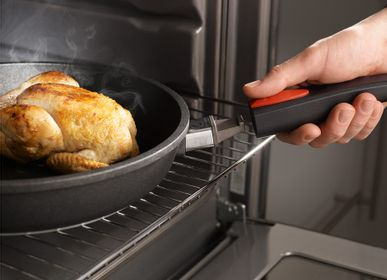 Frying pans - Detachable handle - easy, practical, safe! - WOLL NORBERT GMBH, GERMANY