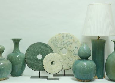 Decorative objects - Celadon Pottery vase - ORNAMENTA