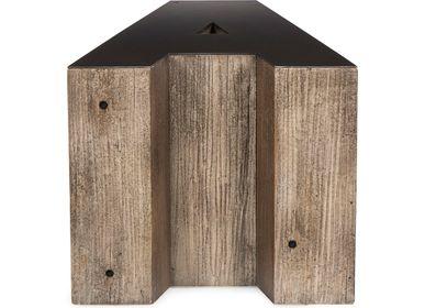 Tables - Wooden Alphabet Side Tables - ANDREW MARTIN INTL LTD