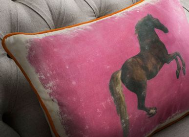 Coussins - National Gallery Whistlejacket Coussin rose - ANDREW MARTIN INTL LTD