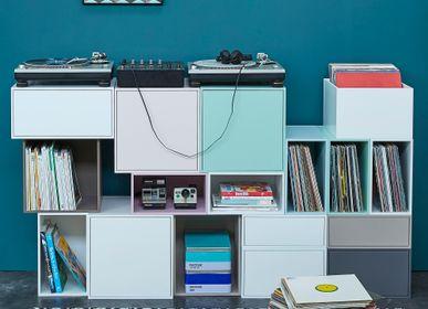 Etagères - Système pour disques vinyles CUBIT® - CUBIT® - BITS FOR LIVING
