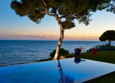 Outdoor pools - Infinity pool with sea views - PISCINES CARRE BLEU