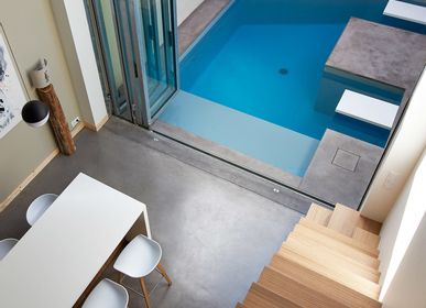 Outdoor pools - Urban pool - PISCINES CARRE BLEU
