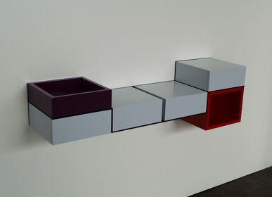 Consoles - Bureau Console Pas-Pied - LES PIEDS SUR LA TABLE
