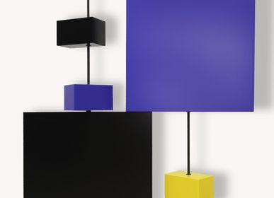 Wall ensembles - Mural composition Pas-Pied-Peint - LES PIEDS SUR LA TABLE