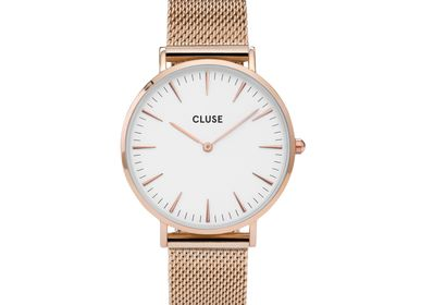 Jewelry - CLUSE Minuit Mesh Rose Gold/White - CLUSE
