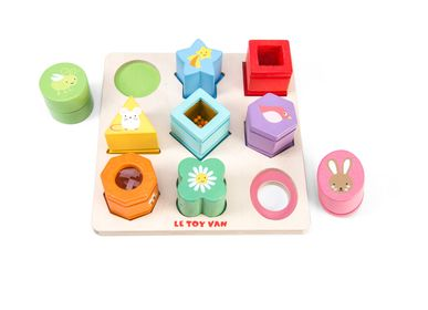 Toys - Petilou Sensory Shapes - LE TOY VAN