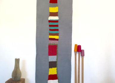 Tissus -  Bande crochet multicolore - MP CREATIONS